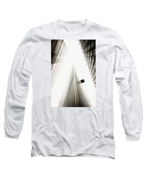 Long Sleeve T-Shirt featuring the photograph Not The Shard by Lenny Carter