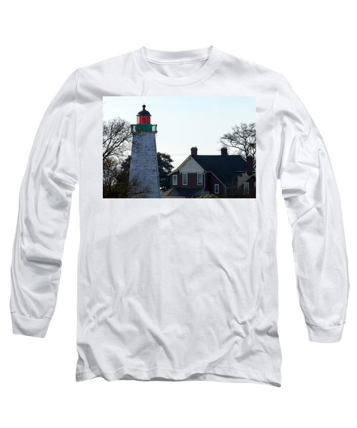 Old Point Comfort Lighthouse Long Sleeve T-Shirt