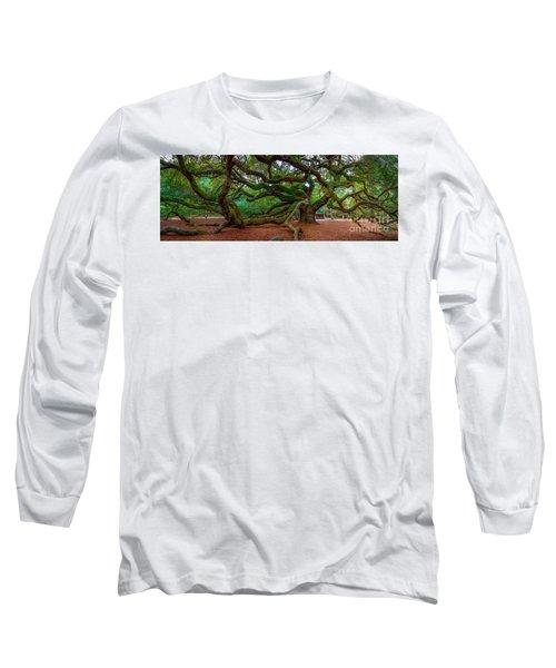 Old Southern Live Oak Long Sleeve T-Shirt
