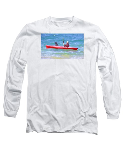 Long Sleeve T-Shirt featuring the photograph Out For A Ride by Susan Crossman Buscho