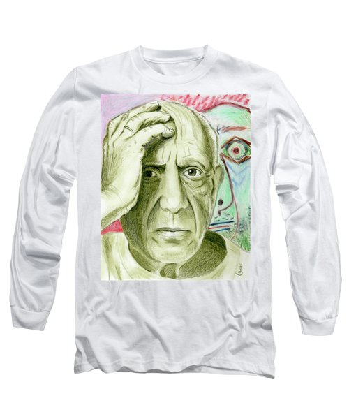 Pablo Piccaso Long Sleeve T-Shirt by Yoshiko Mishina