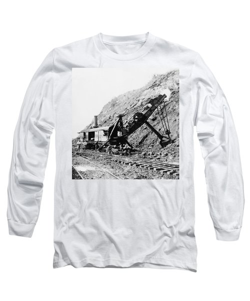 Panama Canal - Construction - C 1910 Long Sleeve T-Shirt