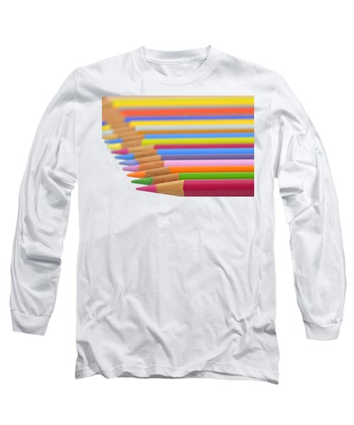 Long Sleeve T-Shirt featuring the photograph Pencils by George Atsametakis