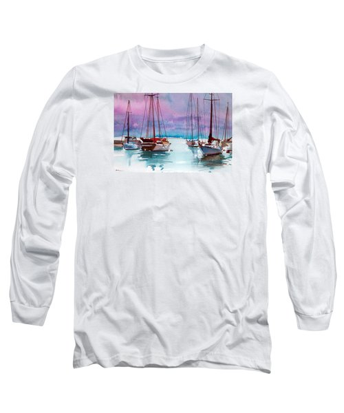 Long Sleeve T-Shirt featuring the painting Phang-nga Bay by Ed Heaton