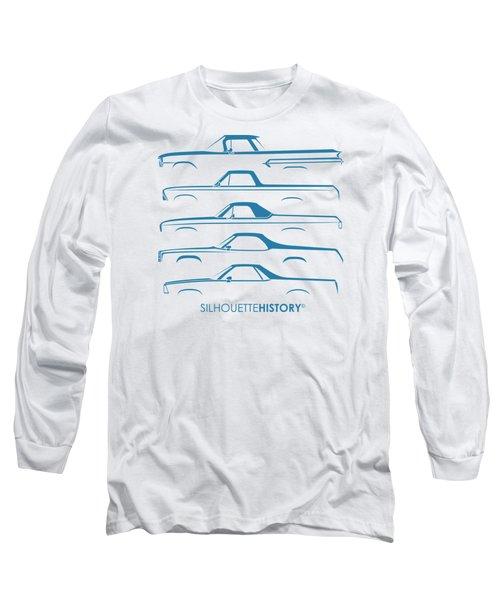 Pickupino Silhouettehistory Long Sleeve T-Shirt by Gabor Vida