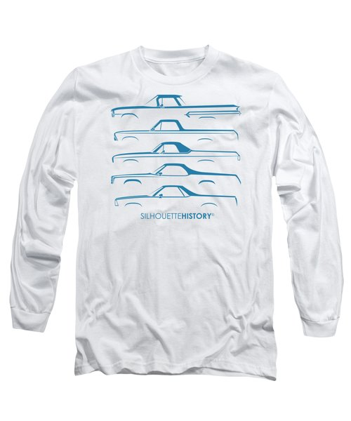 Pickupino Silhouettehistory Long Sleeve T-Shirt