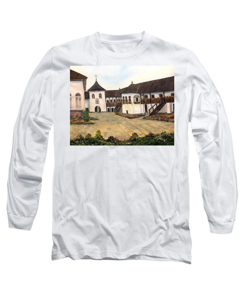 Polovragi Monastery - Romania Long Sleeve T-Shirt