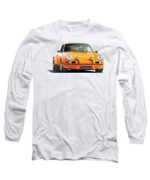 Porsche 911 Rs Long Sleeve T-Shirt