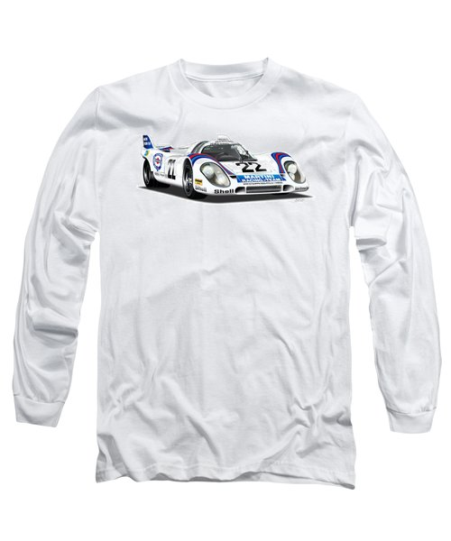 Porsche 917 Illustration Long Sleeve T-Shirt