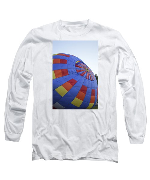 Preparing For Lift Off Long Sleeve T-Shirt by Linda Geiger