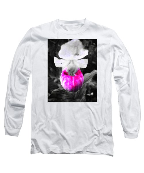 Pretty In Pink Long Sleeve T-Shirt by Andre Faubert