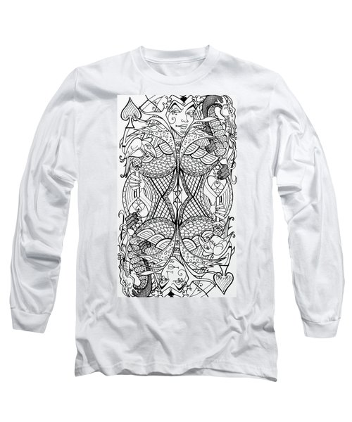 Queen Of Spades 2 Long Sleeve T-Shirt