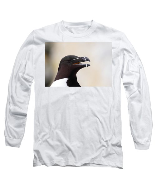Razorbill Portrait Long Sleeve T-Shirt