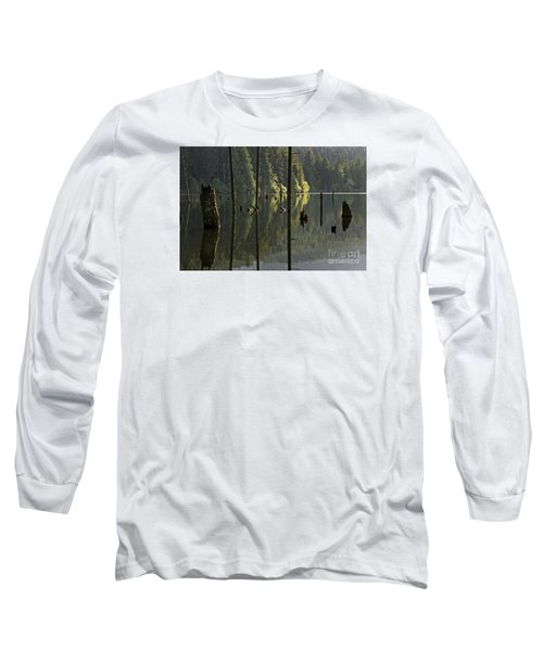 Long Sleeve T-Shirt featuring the photograph Reflections by Inge Riis McDonald