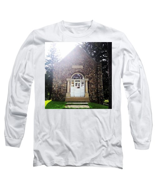 Riverside Cemetery Chapel Long Sleeve T-Shirt