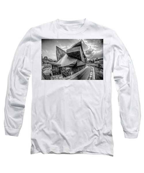 Roanoke Virginia City Skyline In The Mountain Valley Of Appalach Long Sleeve T-Shirt