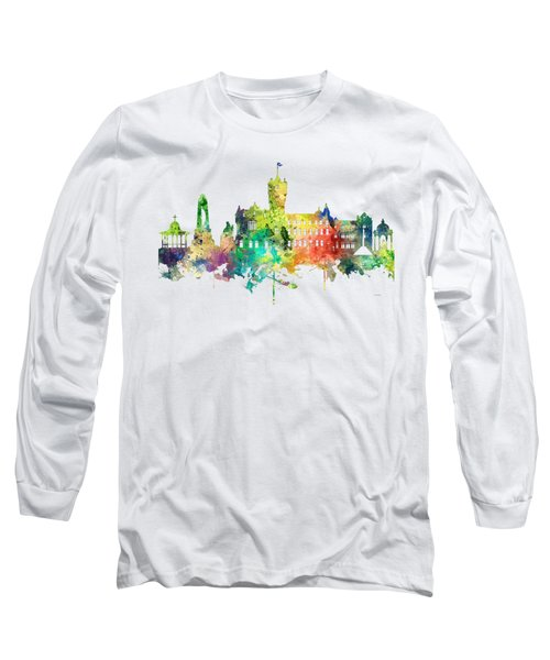 Rutherglen Scotland Skyline Long Sleeve T-Shirt