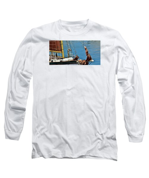 Sail Boat Long Sleeve T-Shirt by Werner Lehmann