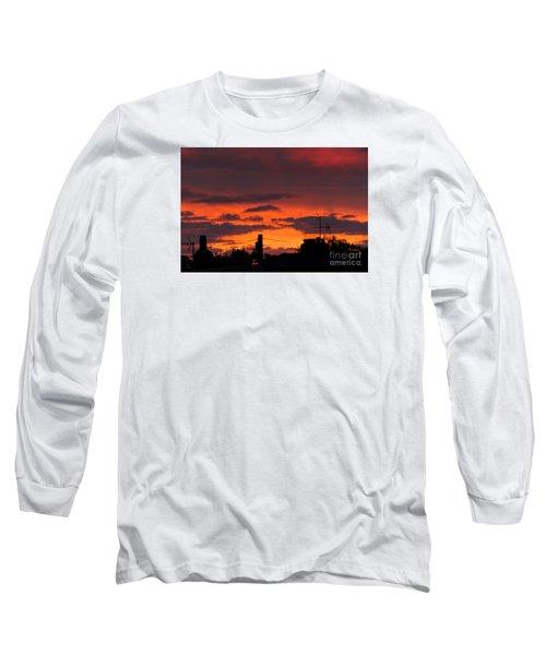 Sailors Delight Long Sleeve T-Shirt by David  Hollingworth