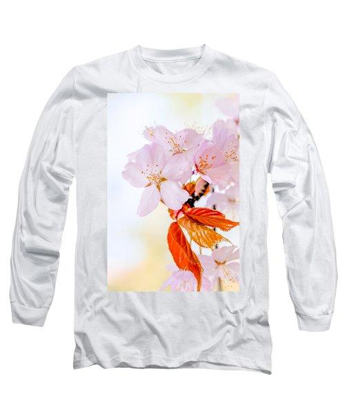 Long Sleeve T-Shirt featuring the photograph Sakura - Japanese Cherry Blossom by Alexander Senin