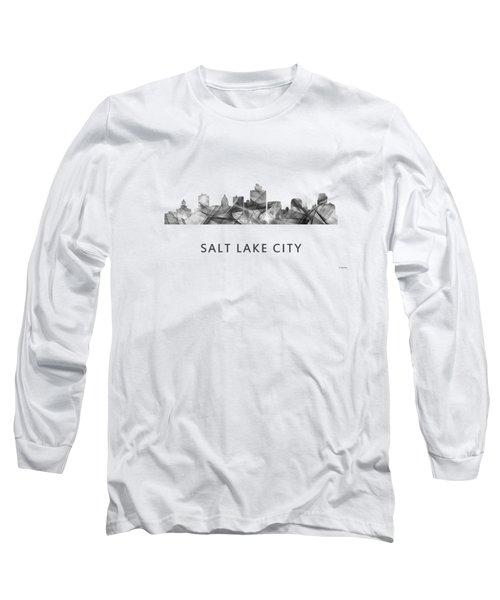 Salt Lake City Utah Skyline Long Sleeve T-Shirt
