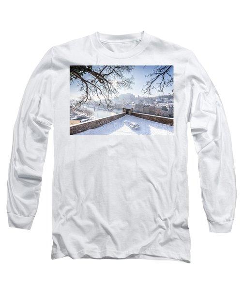 Salzburg Winter Dreams Long Sleeve T-Shirt by JR Photography