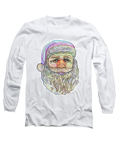Santa Long Sleeve T-Shirt by Ludwig Keck