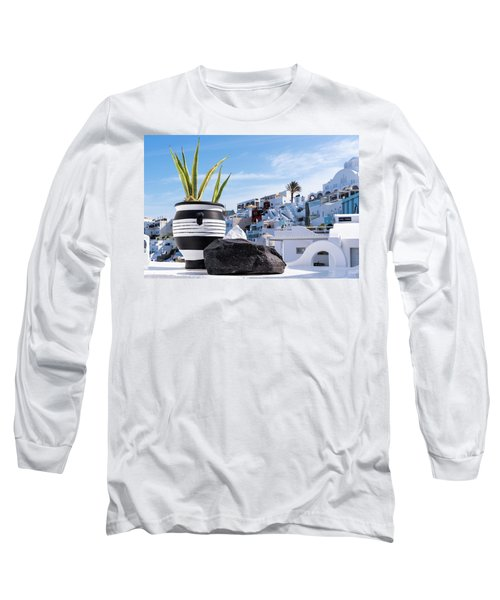 Santorini - Greece Long Sleeve T-Shirt