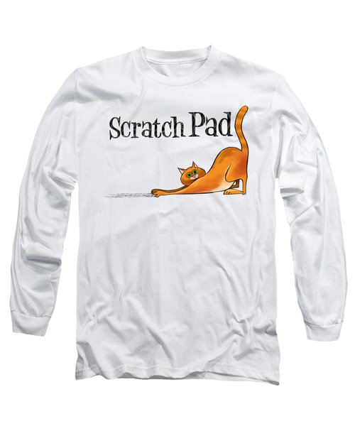 Scratchy Cat Long Sleeve T-Shirt