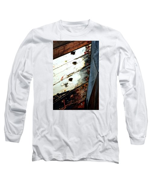 Long Sleeve T-Shirt featuring the photograph Ship Shape by Newel Hunter