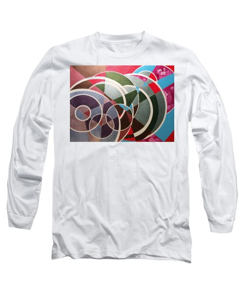 Long Sleeve T-Shirt featuring the painting Sky by Hang Ho