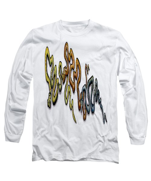 Snakes Long Sleeve T-Shirt by Kevin Middleton
