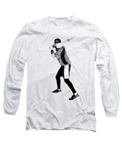 Southwest Aztecs Baseball Organization Long Sleeve T-Shirt by Nicholas Grunas
