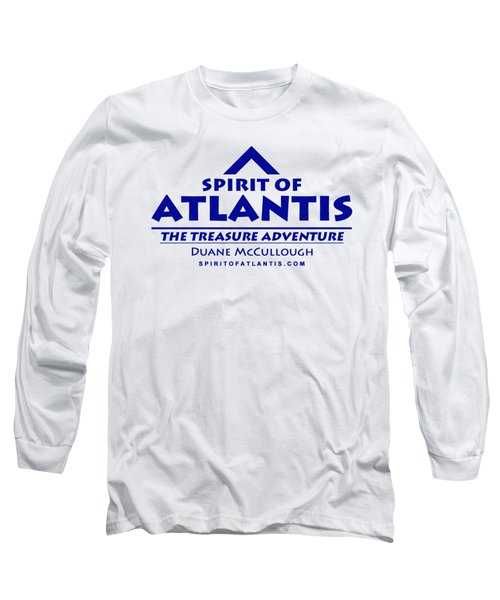 Spirit Of Atlantis Logo Long Sleeve T-Shirt