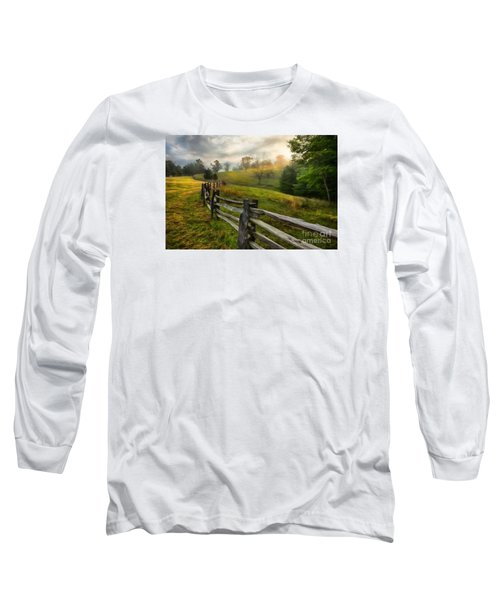 Splash Of Morning Light Ap Long Sleeve T-Shirt by Dan Carmichael