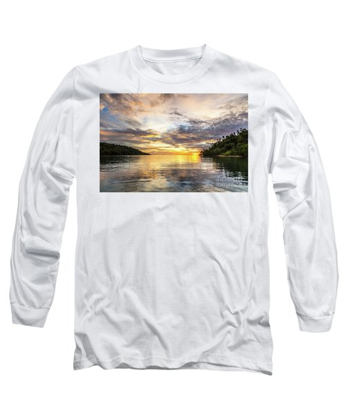 Stunning Sunset In The Togian Islands In Sulawesi Long Sleeve T-Shirt