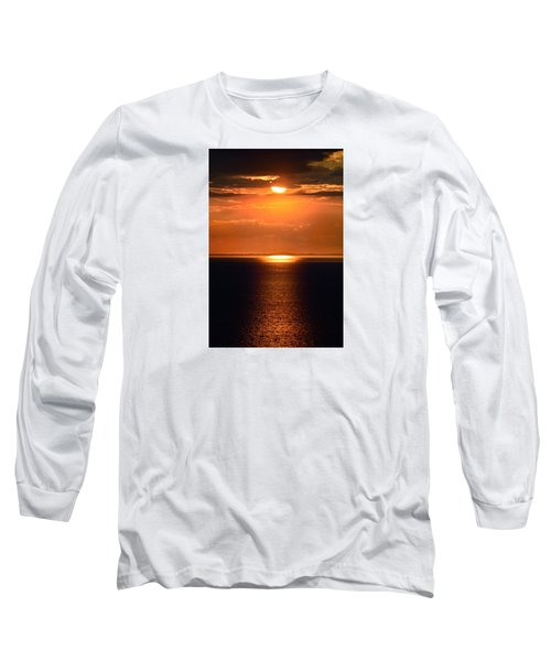 Sun Down Long Sleeve T-Shirt by Terence Davis