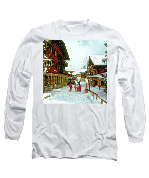 Switzerland Alps Long Sleeve T-Shirt