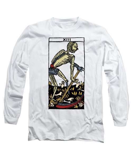 Tarot Card Death Long Sleeve T-Shirt