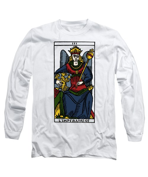 Tarot Card The Empress Long Sleeve T-Shirt