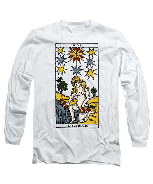 Tarot Card The Stars Long Sleeve T-Shirt