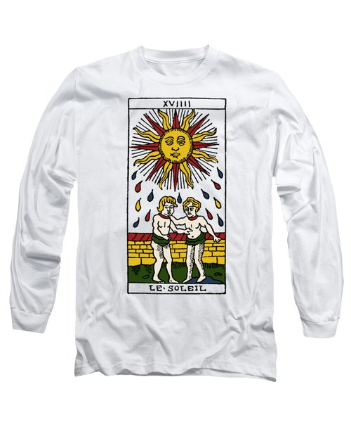 Tarot Card The Sun Long Sleeve T-Shirt