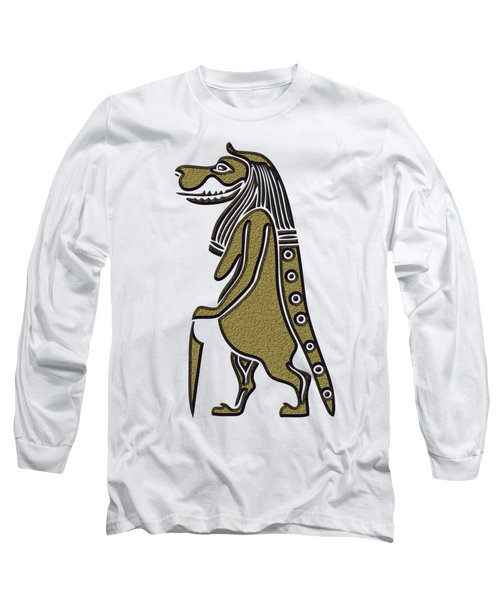 Taweret - Mythical Creature Of Ancient Egypt Long Sleeve T-Shirt