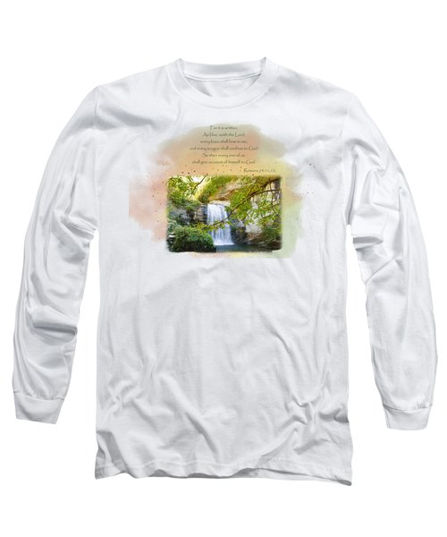The Accounting Long Sleeve T-Shirt by Larry Bishop