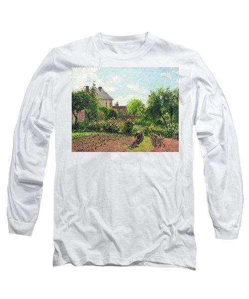 The Artist's Garden At Eragny Long Sleeve T-Shirt