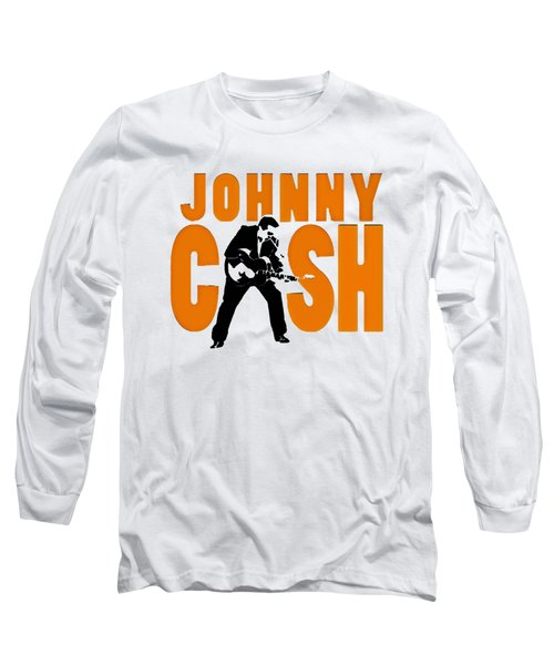 The Fabulous Johnny Cash Long Sleeve T-Shirt