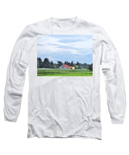 The Farm Long Sleeve T-Shirt by Marilyn Diaz