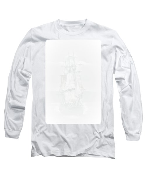 The Ghost Ship Long Sleeve T-Shirt by David Patterson