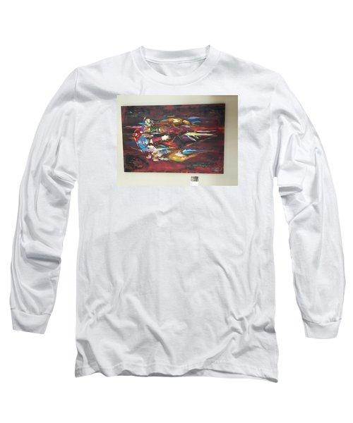 Thunder Long Sleeve T-Shirt by Heather Roddy