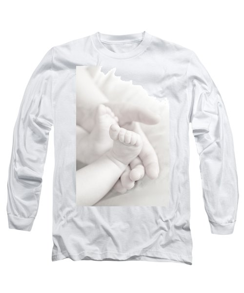 Tiny Feet Long Sleeve T-Shirt